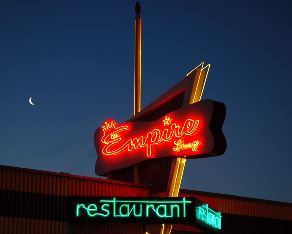 The Empire Restaurant Sign, Louisville, Colorado