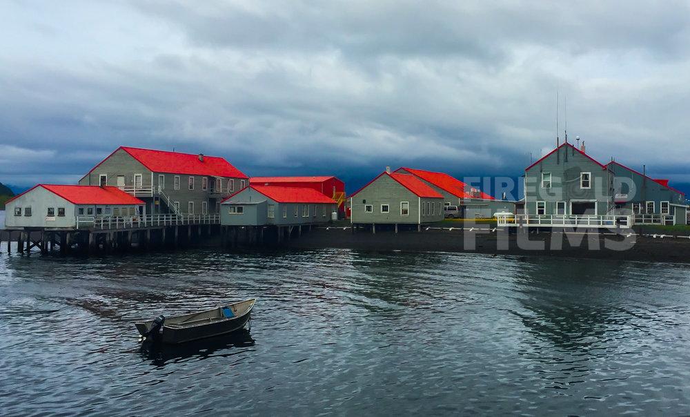 motor boat-kodiak-island-alaska