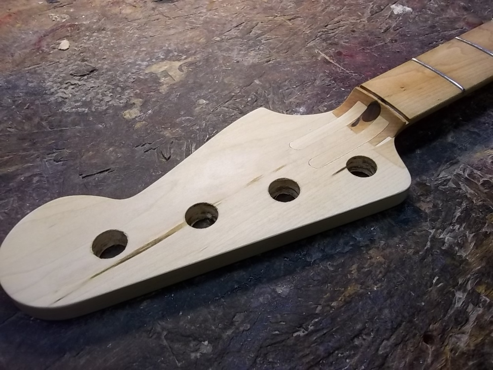 splines - headstock face 3/4