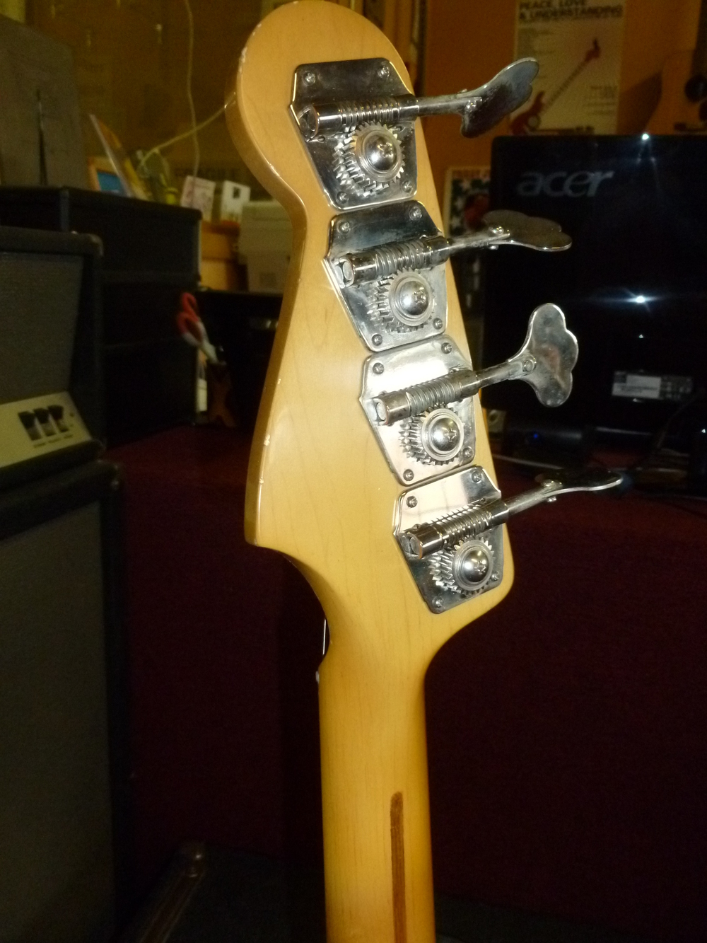complete - headstock rear