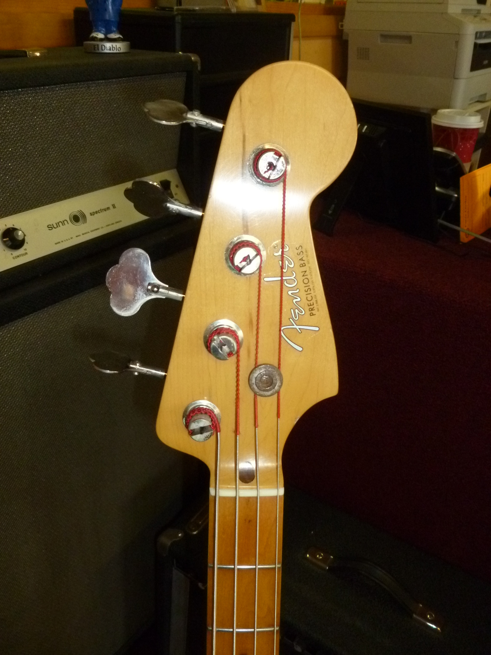 complete - headstock face