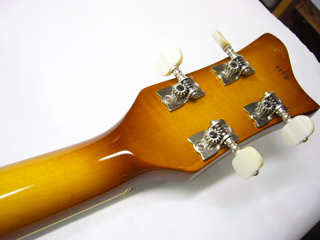 Completed headstock back
