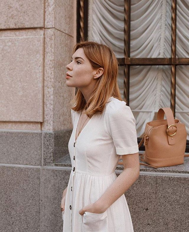 When building your wardrobe, the key is to pick basic pieces that will work well with different combinations. Check out Courtney's idea with a basic tan bucket bag from @parisawangny. GORGEOUS! 😍 . . . . . . #style #ootd #fashion #instagram #wiw #blogger #editorial #chic #casualchic #uoonyou #style #stylish #vogue #outfit #godandbeauty #luxury #beauty #potd #fashionblogger #paris #f21xme #beautifulmatters