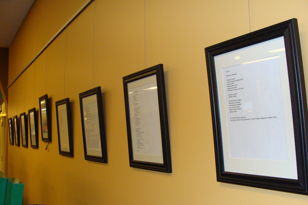 Poems on Display for National Poetry Month