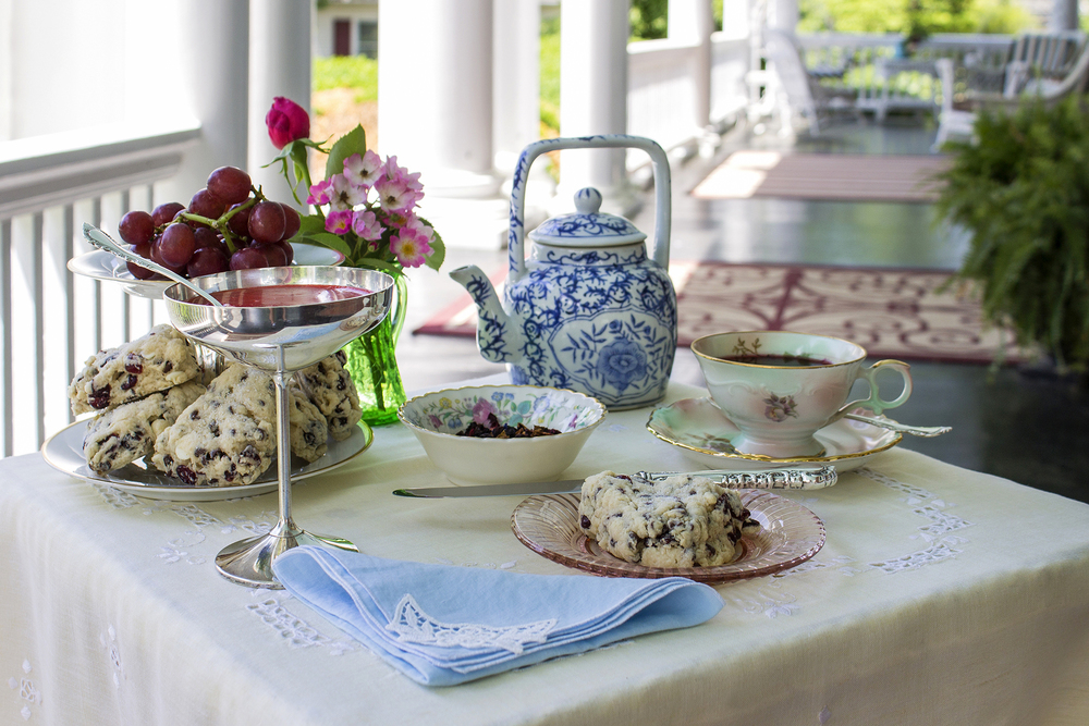 Tea Time Photography Shot for Hill Crest Bed and Breakfast