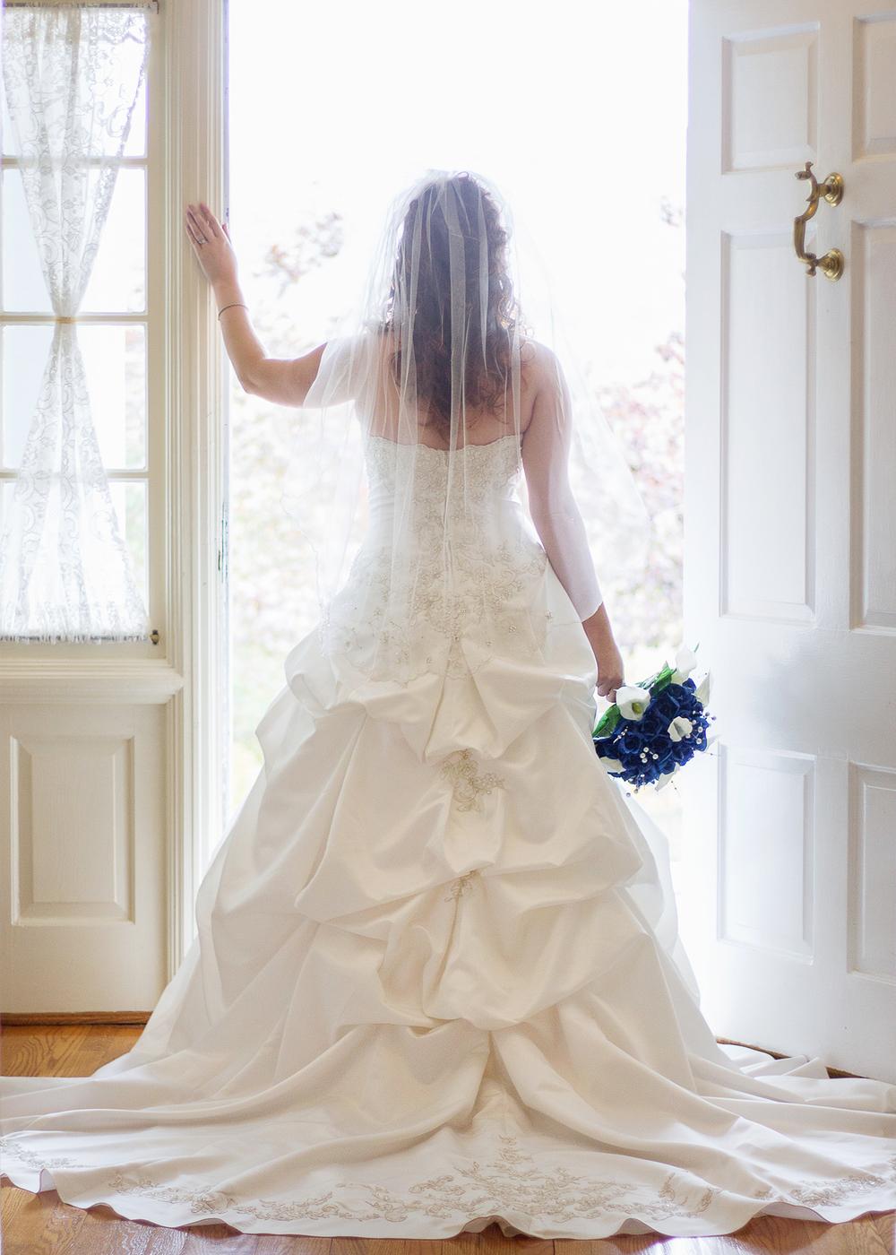 Favorite Bridal Shot, Alleghany Wedding Photographer