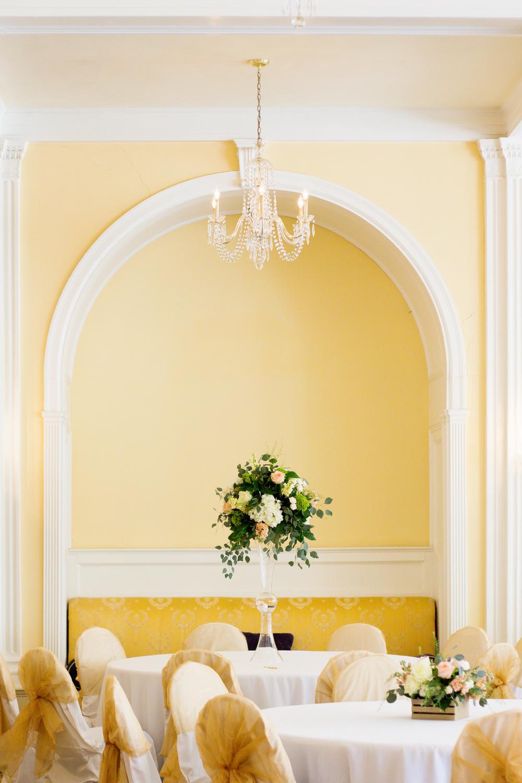 Crystal Room Wedding | Omni Homestead Hotel and Resort | Hot Springs, VA | N. Nicely Photography