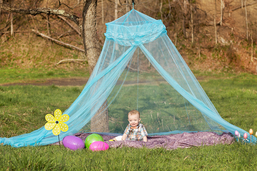 Lifestyle Easter Themed Toddler Shoot | Alleghany County Photographer