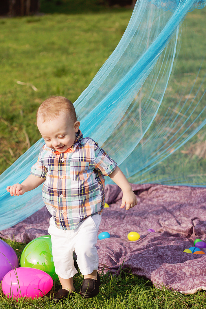 Lifestyle Easter Themed Toddler Shoot | Alleghany County | Virginia Photographer | N. Nicely Photography