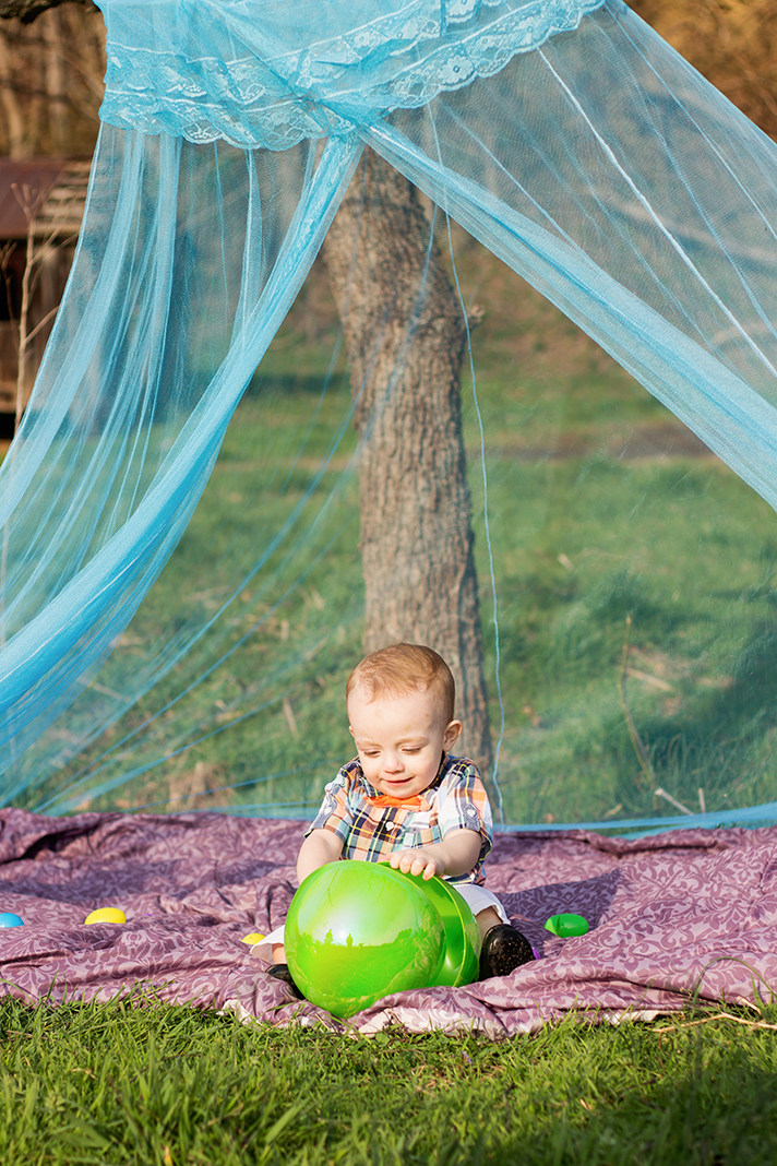 Easter Themed Lifestyle Toddler Shoot | Alleghany County Photographer