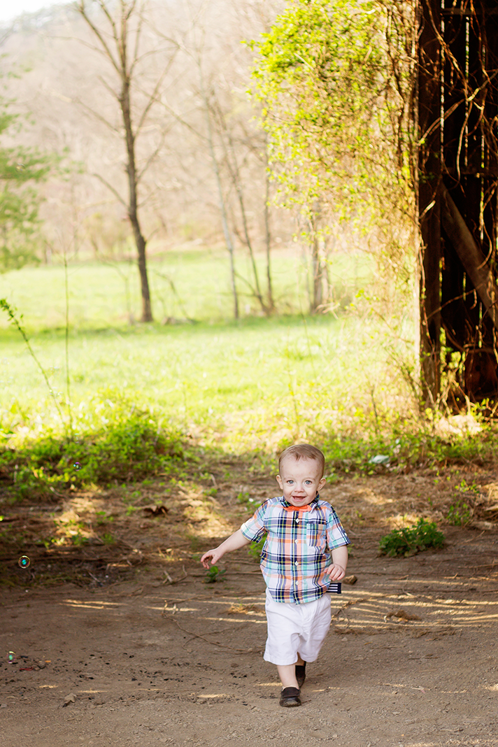 Easter Themed Rustic Toddler Lifestyle Shoot | Clifton Forge Photographer