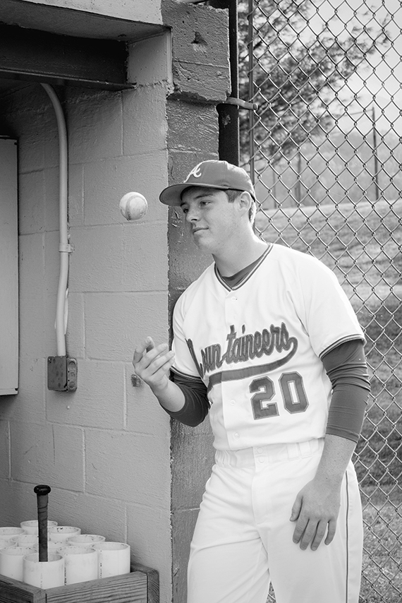 Senior Baseball Photography Pose  Alleghany County Photographer   N. Nicely Photography