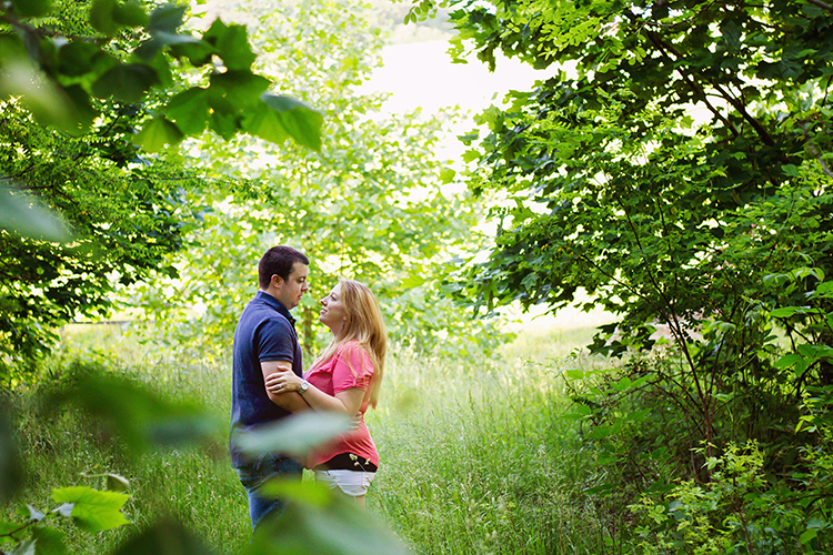 Woodland-Engagement-photographer-Lexington-Virginia