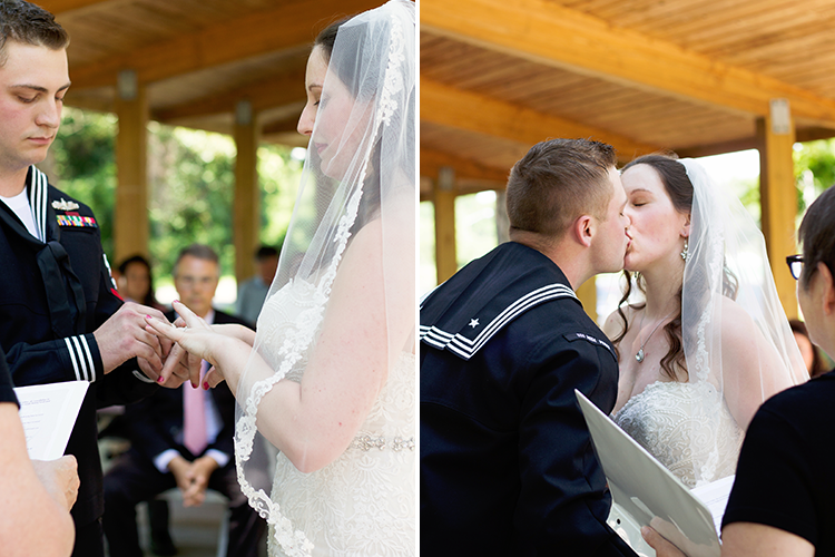 covington-virginia-wedding-photographers-exchanging-rings-first-kiss