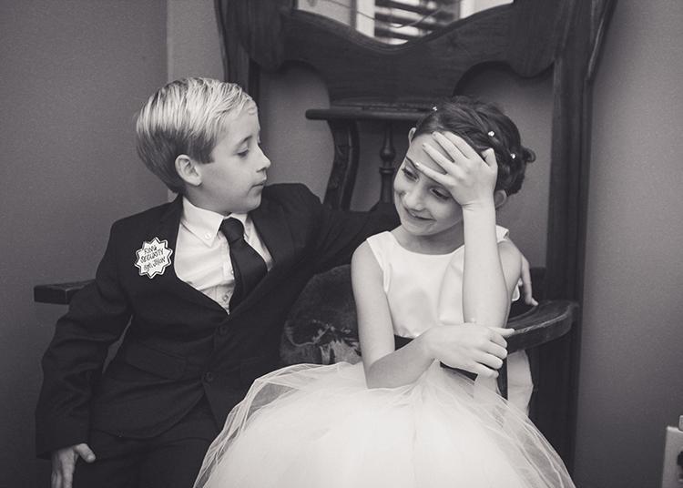 roanoke-wedding-photographers-ring-bearer-flower-girl-candid-moment