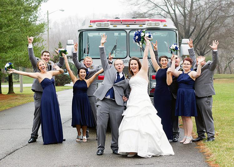 covington-virginia-wedding-photographers-firefighter-themed-wedding-pose-bridal-party