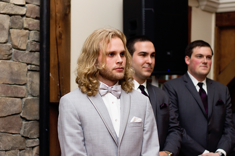 bella-rose-plantation-wedding-lynchburg-virginia-groom-waiting-for-bride-ceremony