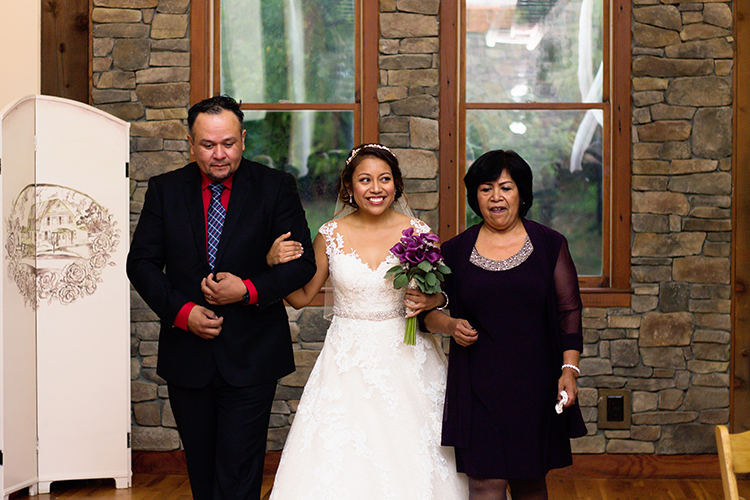 bella-rose-plantation-wedding-lynchburg-virginia-bride-being-escorted-down-aisle