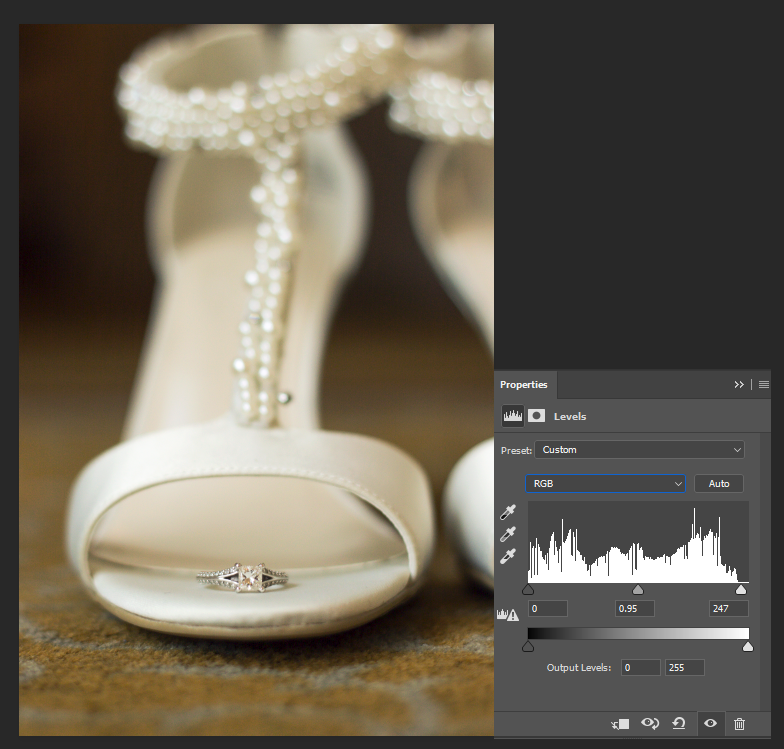wedding-detail-image-tutorial-levels-adjustment-layer-pop-color
