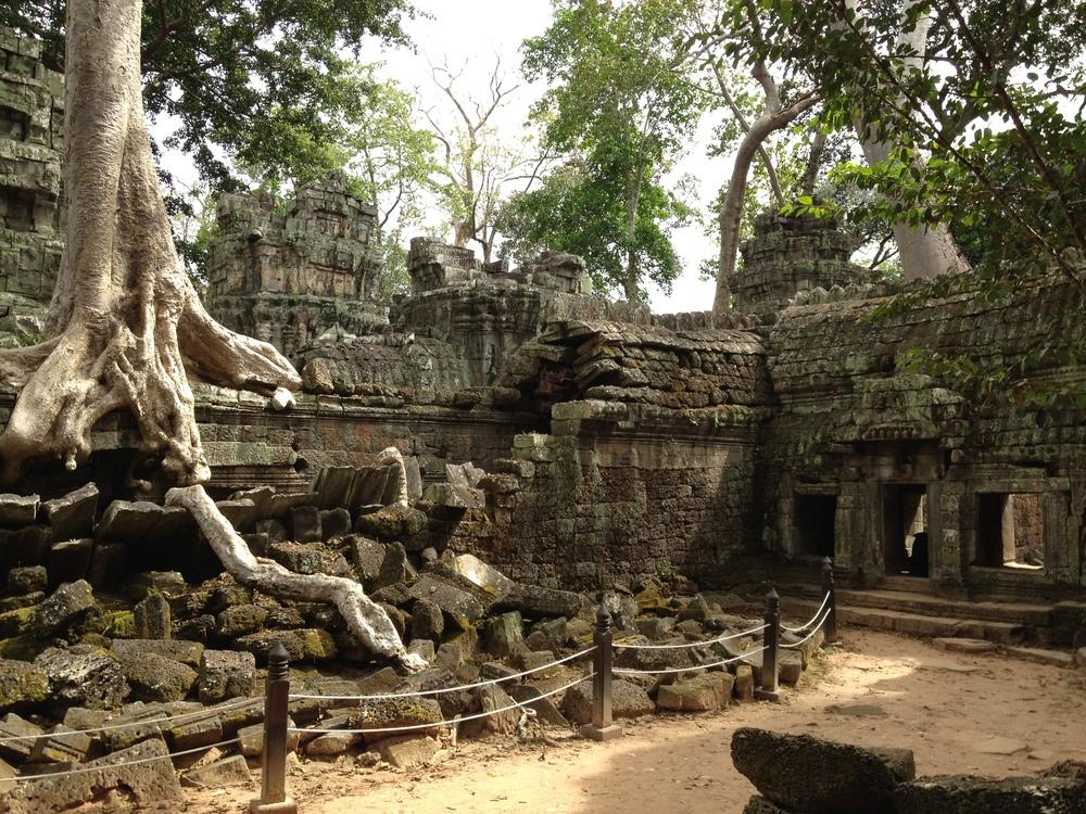 Visit world famous places, like Angkor Wat