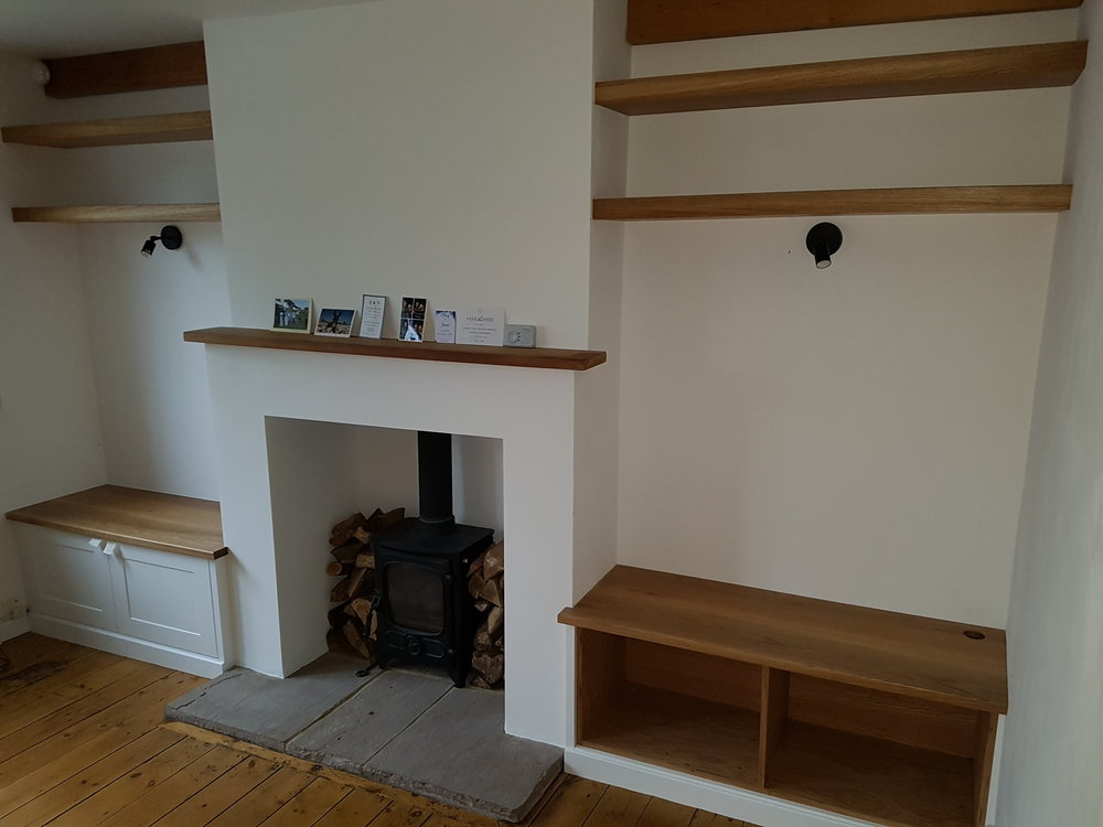 Alcove Units With Record Storage