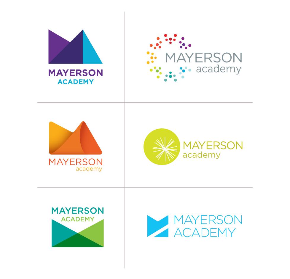 MariaBee_MayersonAcademy_LogoConcepts