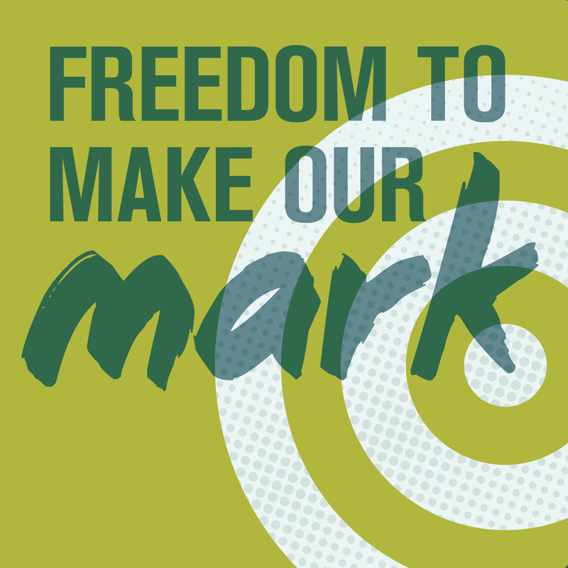 Making Our Mark   promotional materials