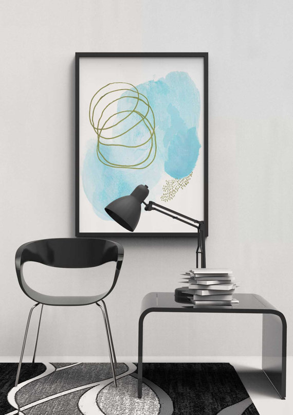 Modern Abstract Art for Your Home.