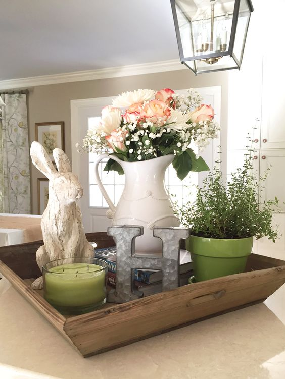 A small spring vignette from BethHartDesign.com