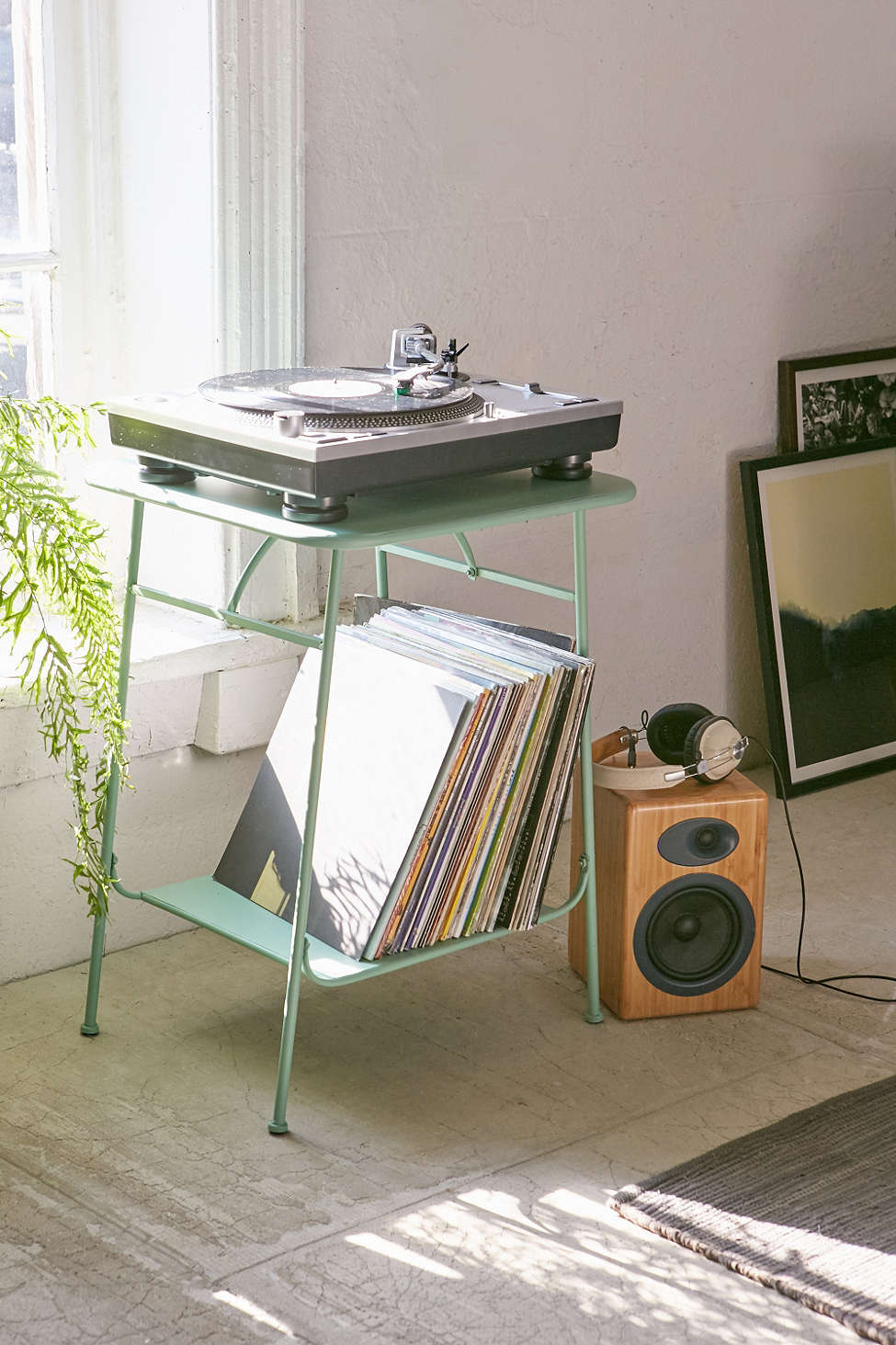 Side table from Urban Outfitters.