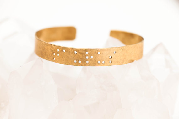 Beautiful Braille Bracelet by Leigh Luna
