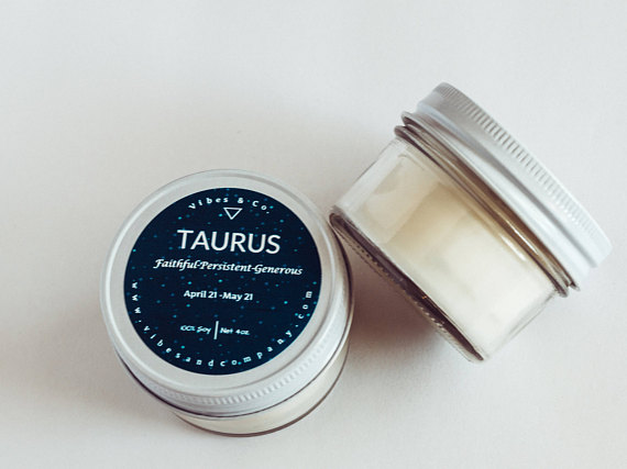 Tarus Candle Gift by Vibesandcompany