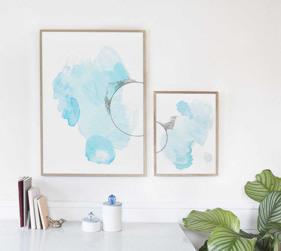 Set of Art Prints by Adri Luna Studio