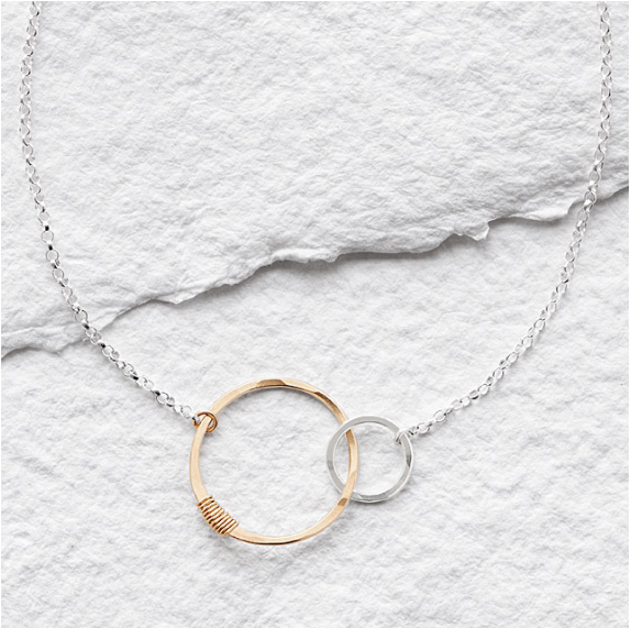 Links of Love Necklace by Beth Lawrence