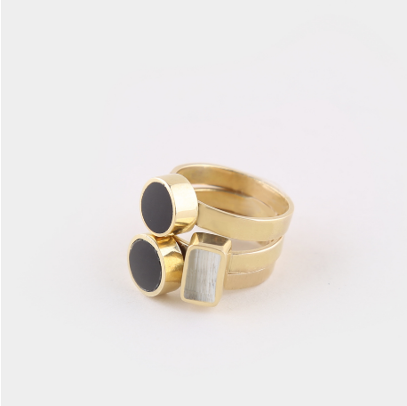 Stackable Rings by Shop Soko