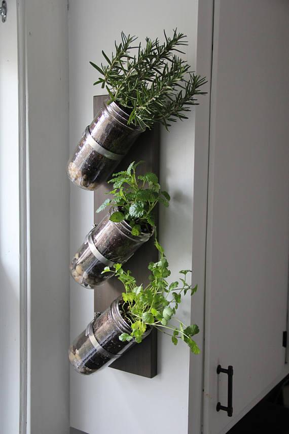 Indoor Herb Garden by SandpiperWoodworking