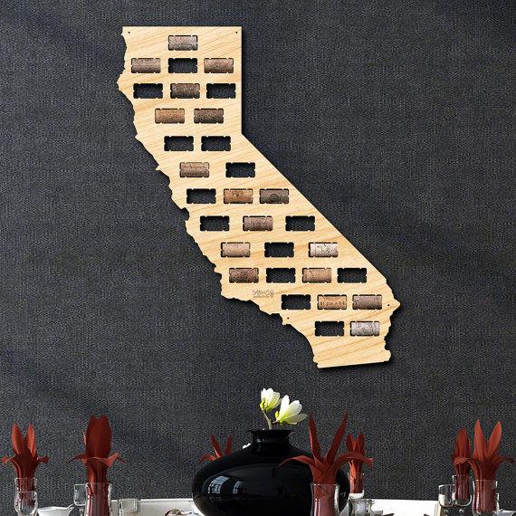 California Wine Cork Holder by HomeWetBar