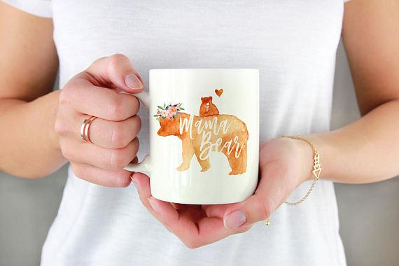 Mama Bear Mug by WillowandFoxCo