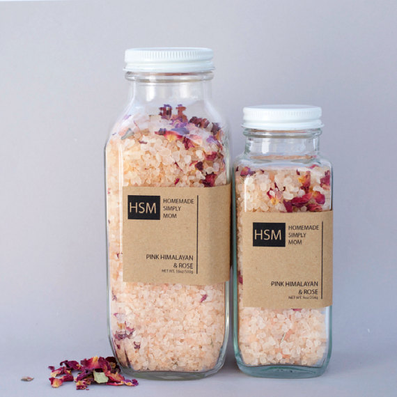 Himalayan and Rose Pink Salt by HomemadeSimplyMom