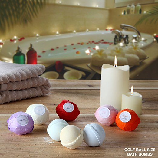 Bath Bombs Gift Set by Ampire Trading