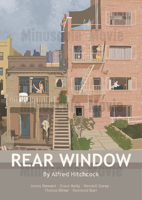 Rear Window by MinusculeMotion