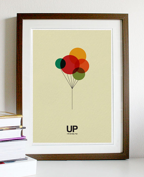Up Poster by PosterInspired
