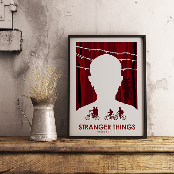 Stranger Things Poster by CiaranMonaghanArt