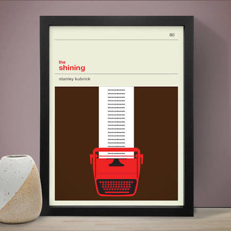 The Shining Movie Poster by LawandMoore