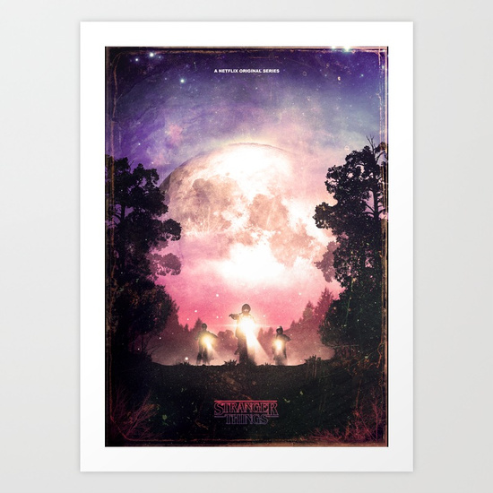 Stranger Things Poster by GeekyNinja