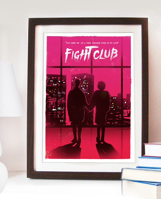 Fight Club Poster by 2ToastDesign