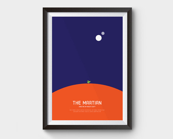 The Martian Movie Poster by ArchiveFilmPosters