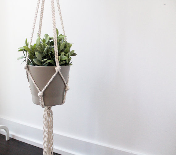 Macrame Planter Holder by Freefille