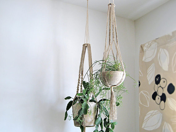 Large Hanging Planters by SimplyNu