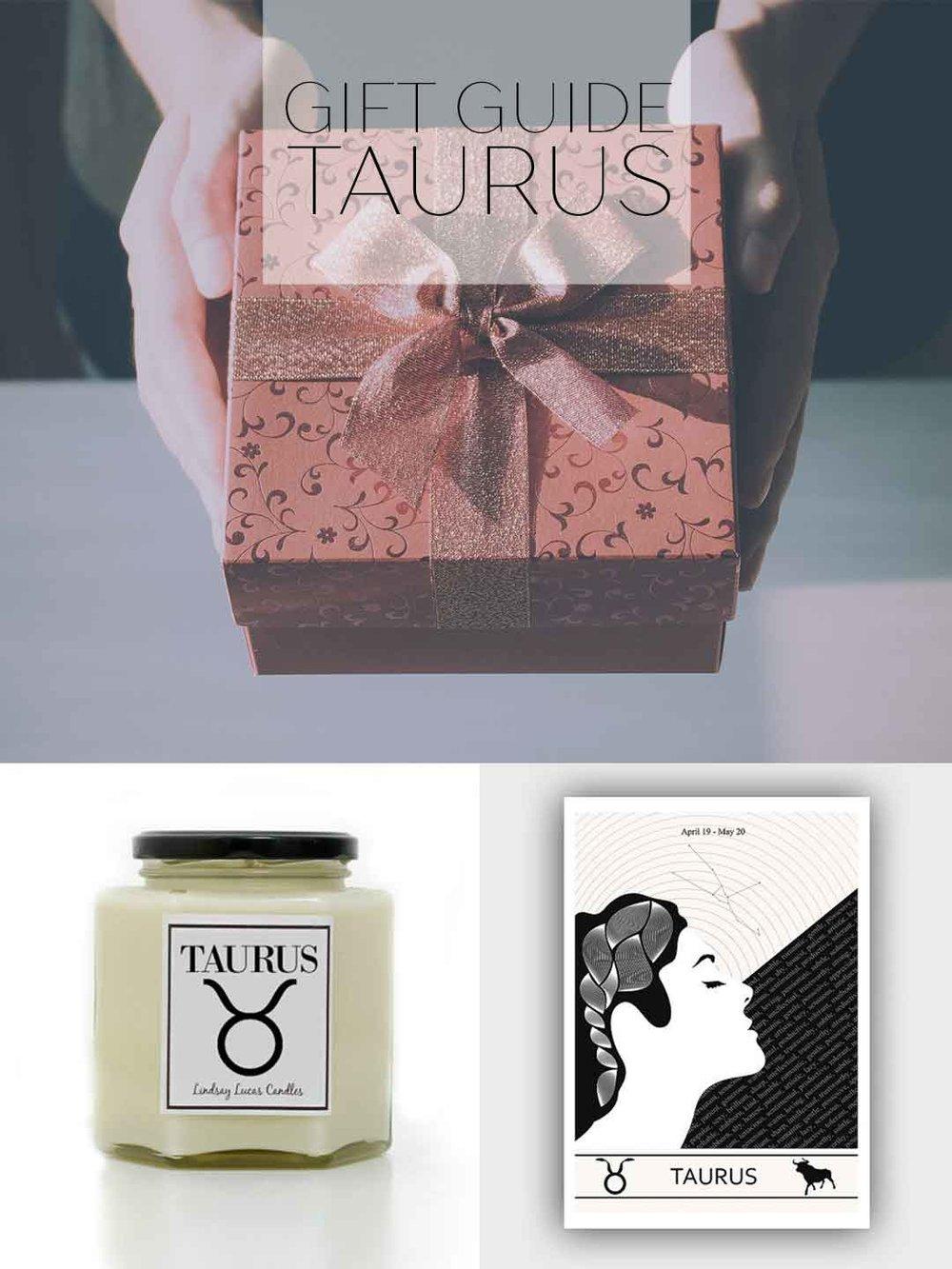 Taurus Gift Guide by Adri Luna Studio